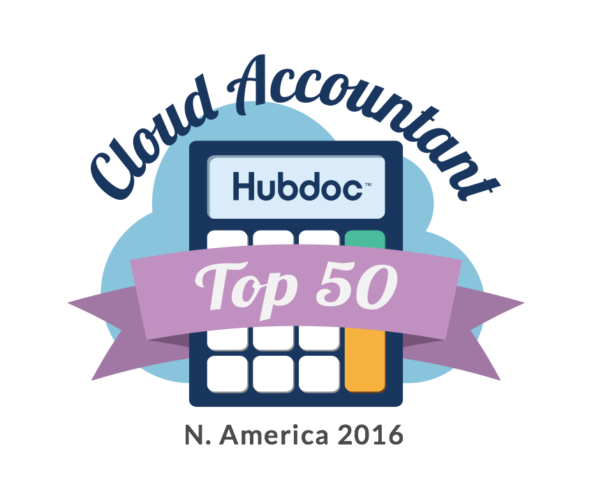 Hubdocs Top50CloudAccountants 2016