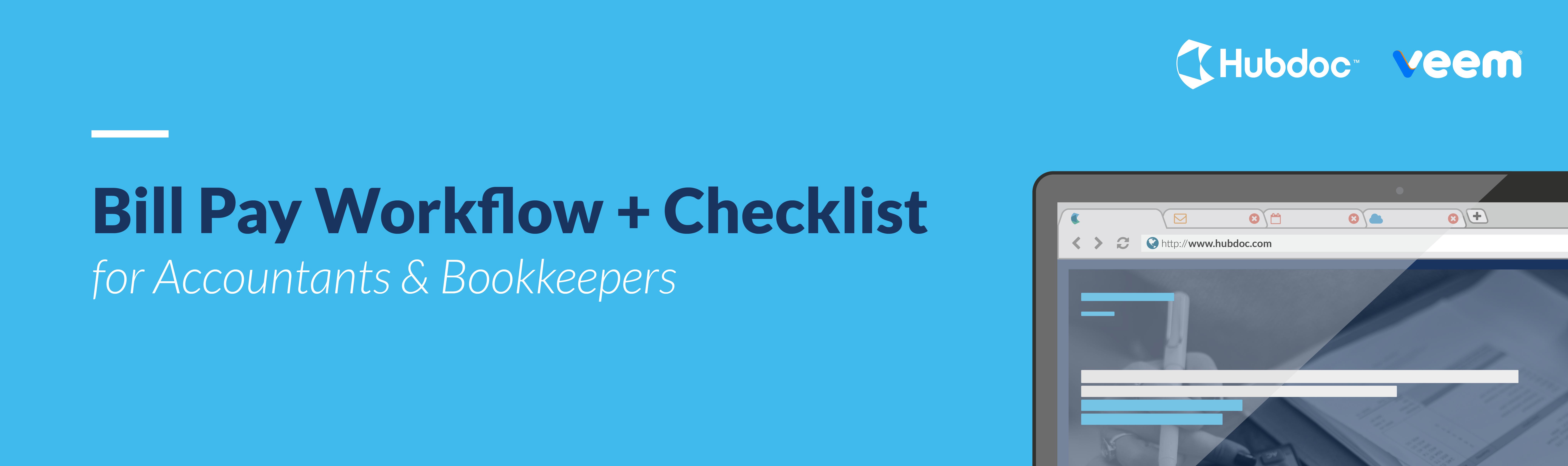 Bill Pay Workflow + Checklist