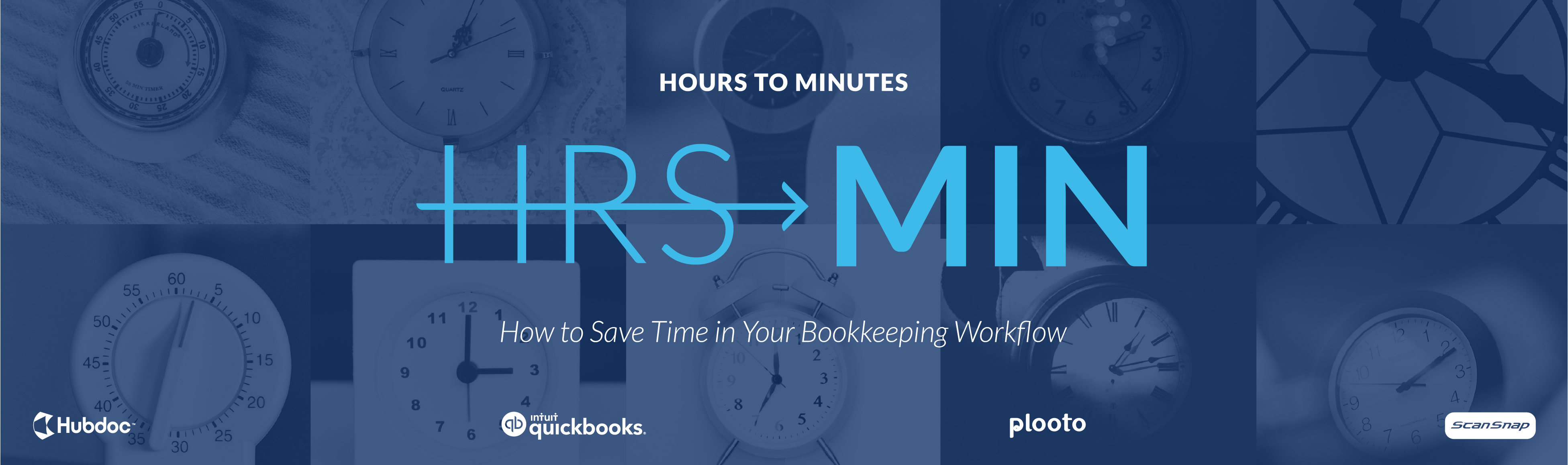Hours to Minutes: How to Save Time in Your Bookkeeping Workflow