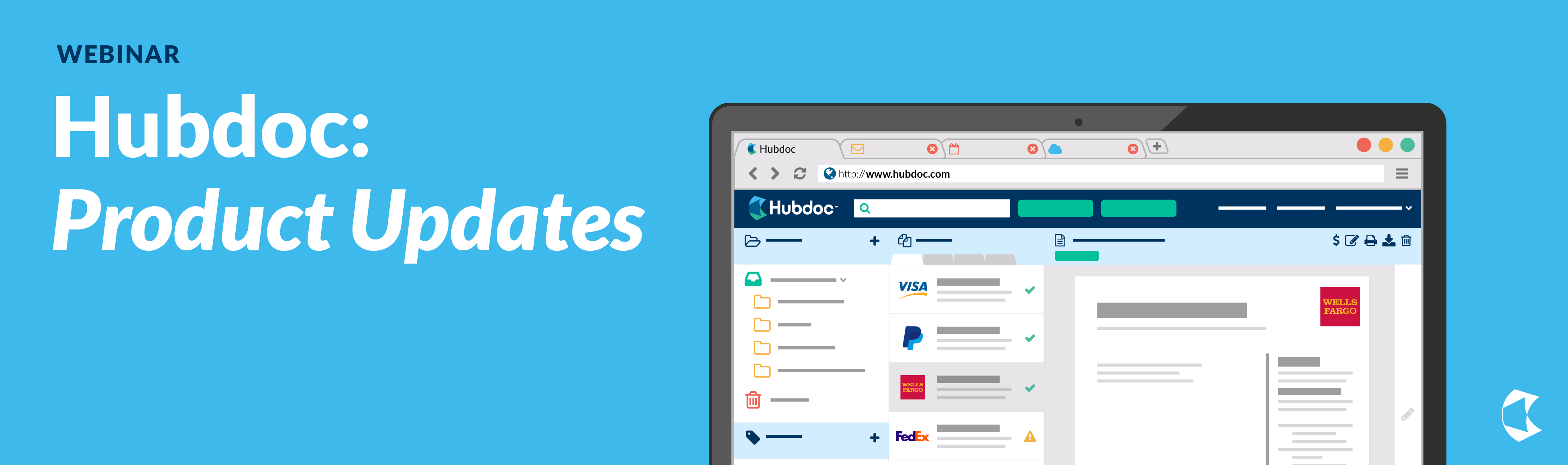 Hubdoc Product Update Webinar